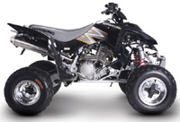 Hyosung Rapier-Te450 Atv  Service Repair Manual