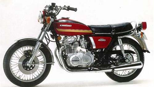 Kawasaki Kz400 1974-1984 Service Repair Manual