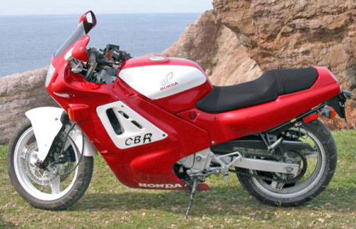 Download Honda Cbr600f1 repair manual