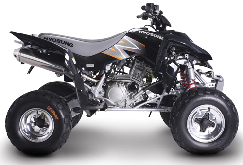 Download Hyosung Rapier-Te450 Atv repair manual